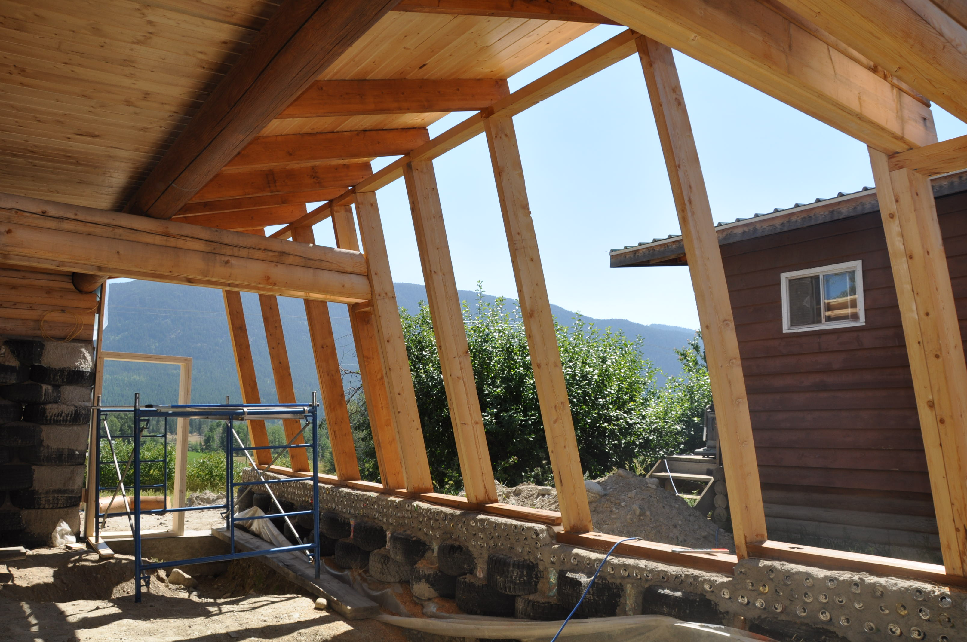 How To Build A Earthship Plans