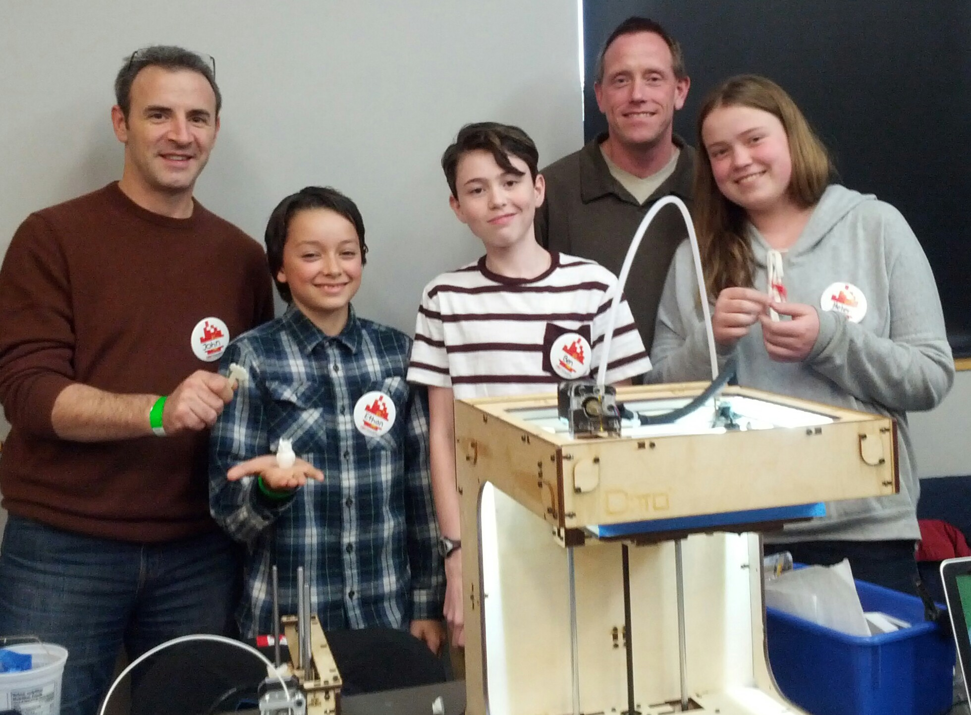 SelfDesign Kids Showoff 3D Printing Skills at TedX